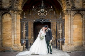Sherborne Abbey Wedding Image by Matthew Williams-Ellis Photography