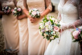 All the bouquets Image by Matthew Williams-Ellis Photography
