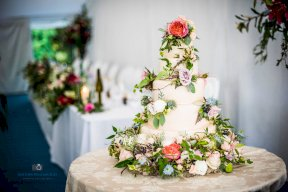 Cake created as a collaboration Image by Matthew Williams-Ellis Photography