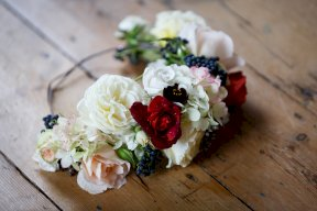 Floral crown Image by Malthouse Photography