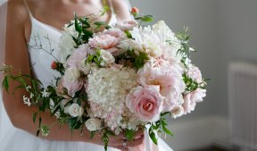 Pinks and whites soft bouquet Image by Malthouse Photography
