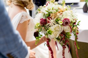 Bridal bouquet photo by Rebecca Roundhill Photography