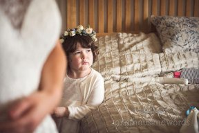 Bridesmaid floral crown Image by One Thousand Words