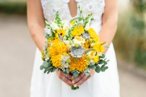 Yellow bouquet Image by Aimee Joy Photography