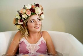Floral bridal crown Image by TP Photography