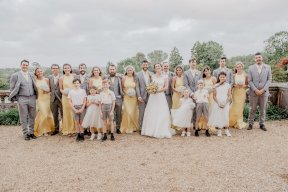 Yellow and grey wedding Image by Sofie Michelle Photography