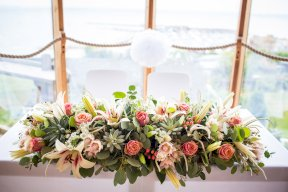 Flower display Image by Rebecca Roundhill Photography