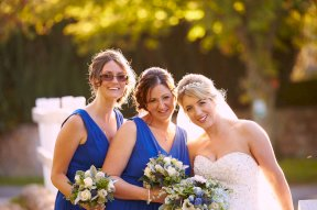 Bride and bridesmaids Image by Kevin Wilson Photography