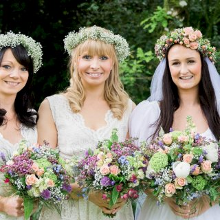 Bouquets and floral crowns