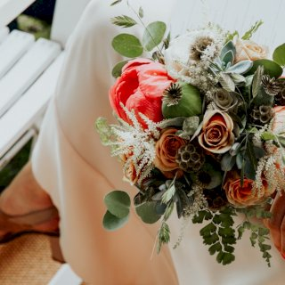 Small bridal bouquet
